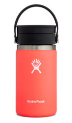 Hydro Flask 12oz Wide Mouth Coffee w/Flex Sip Lid Bottle in Hibiscus