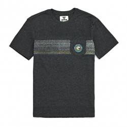 Vissla Shredder Mens T-Shirt - Black Heather