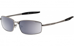 Dirty Dog Goose Sunglasses - Silver/Silver Mirror Polarised