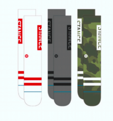 Stance Socks The OG 3 Pack - Camo