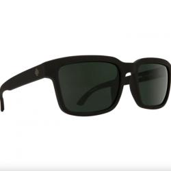 SPY Helm 2 Matte Black Sunglasses - HD Plus Gray/Green Polarised