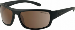Dirty Dog Big Dog Sunglasses - Black/Brown Polarised