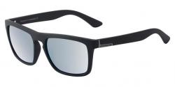 Dirty Dog Ranger Sunglasses - Satin Black/Silver Polarised