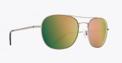 SPY Pemberton Antique Silver Sunglasses - HD Plus Rose Polarised/Gold Mirror