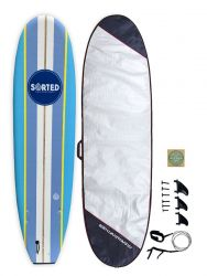 Sorted Premium 9ft Foam Surfboard Package Deal