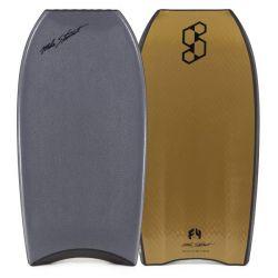 Science Style Loaded QV PE Bodyboard - Gunmetal/Gold