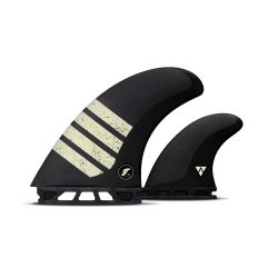 Futures T1 Alpha Twin Fin + Trailer Fins - (Tan)