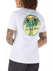 Vans Sketched Palm Mens T-Shirt 2021 - White - Back Print