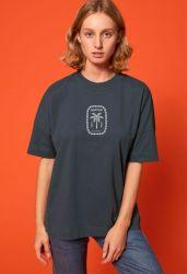 Sorted Surf Shop Boyfriend Tee 2021 - India Ink Grey - Front