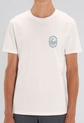 Don't Be Mean, Keep Our Oceans Clean T-Shirt 2021 - White - Full VIew
