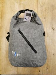 Dry Life 40L Dry Bag Backpack 2021 - Grey front