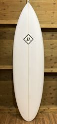 Beachbeat Menace 6ft 4 Surfboard - White
