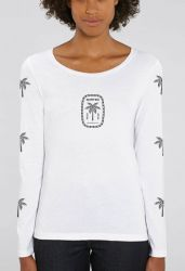 Sorted Surf Shop Long Sleeve Womens Top 2021 - White