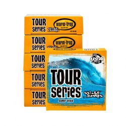 Sticky Bumps Tour Surf Wax - Warm/Tropical - Full View