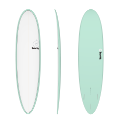 "Torq 7'2"" MOD Funboard 2020 - Sea Green Pinline"
