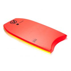 """Vision Spark 36"""" Bodyboard 2021 - Red/Yellow - Full View"""