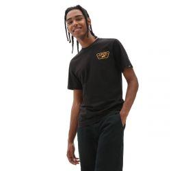 Vans Full Patch Back T-Shirt - Black/Saffron
