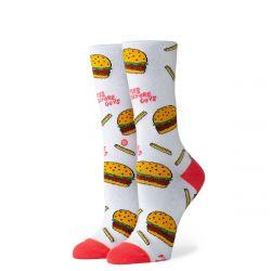 Stance Fries B4 Guys Ladies Socks - White