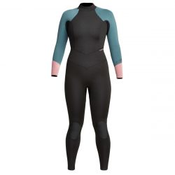 Xcel Axis 3/2mm Thermo Lite Womens Wetsuit 2021 - Black / Rose