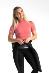 C Skins X Womens Short Sleeve Rash Vest - Coral