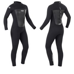Osprey Original 3/2mm Womens Full Length Wetsuit 2021 - Black - Front and Back