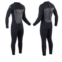 Osprey 5/4mm Mens Back Zip Wetsuit 2021 - Black
