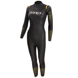 Zone 3 Aspect Thermal Womens Breaststroke Wetsuit - Black