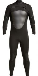Xcel Axis 3/2mm Mens Chest Zip Summer Wetsuit - Black