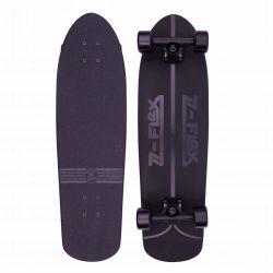 """Z-Flex Shadow Lurker Shorebreak 30"""" Skateboard - Black"""