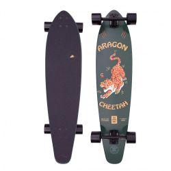 "Z-Flex Aragon Cheetah Round Tail 39"" Skateboard - Green"