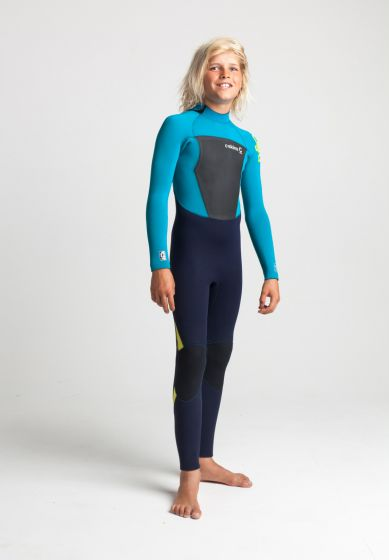 C Skins legend 5/4mm junior back zip wetsuit right side