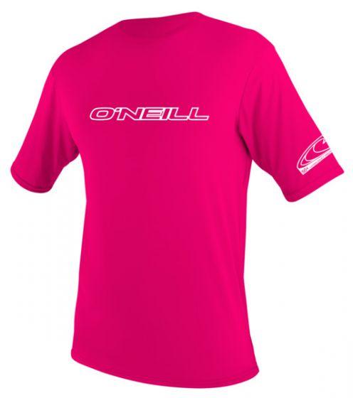 O'Neill Kids Watermelon Pink Rash Vest - Slim fit - 2016 f