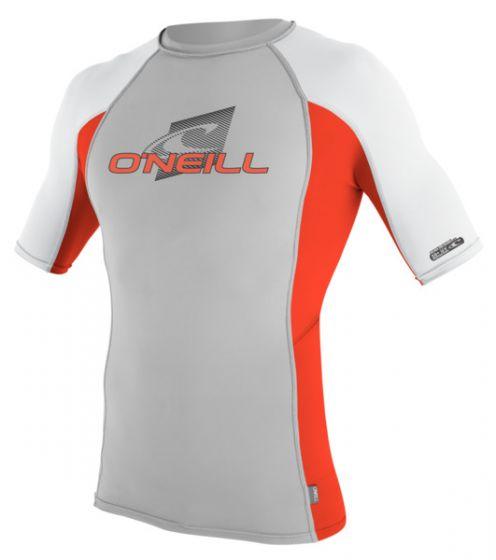 O'Neill Kids Lycra Short Sleeve Rash Vest - Lunar - 2016 f