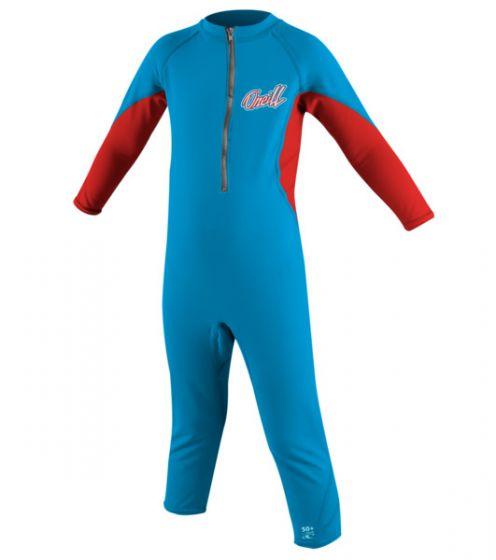 O'Neill Ozone Boys L/S Infant Sun Suit 2016 - Blue f