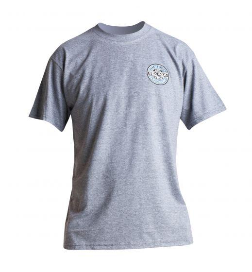 Sex Wax The Fade Mens T Shirt in Grey Marl